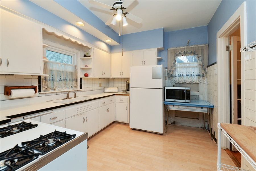 Real Estate Photography - 3815 W. Addison Street, Chicago, IL, 60618 - Kitchen