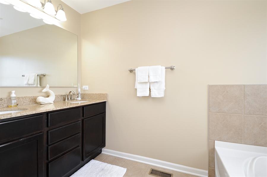 Real Estate Photography - 2365 Kelsey Court, Lindenhurst, IL, 60046 - Master Bathroom