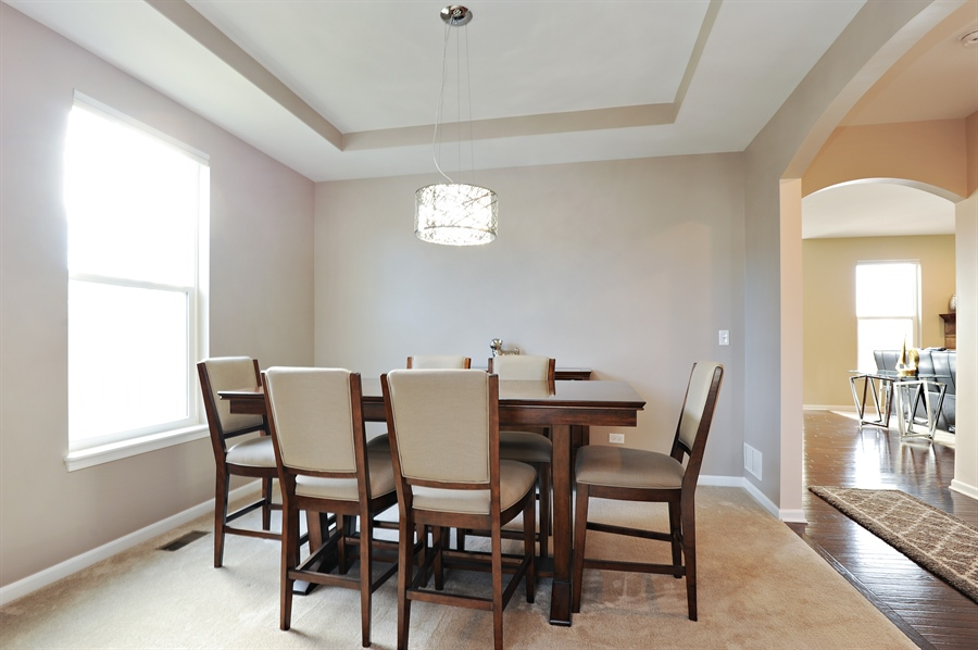 Real Estate Photography - 2365 Kelsey Court, Lindenhurst, IL, 60046 - Dining Room