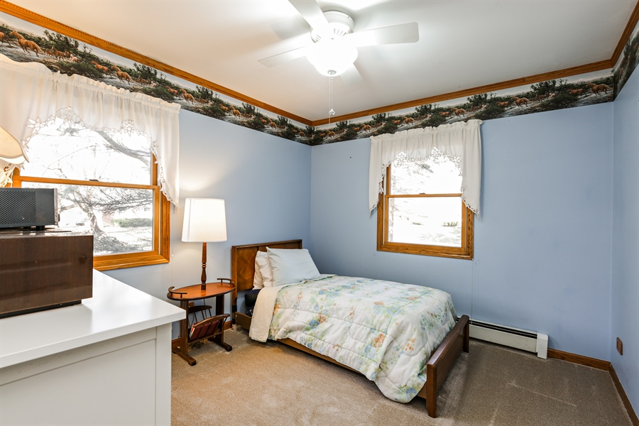 Real Estate Photography - 5001 HIGH LINE Road, Crystal Lake, IL, 60012 - 3rd Bedroom