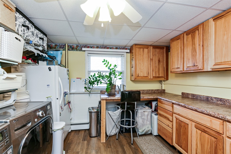 Real Estate Photography - 5001 HIGH LINE Road, Crystal Lake, IL, 60012 - Laundry Room