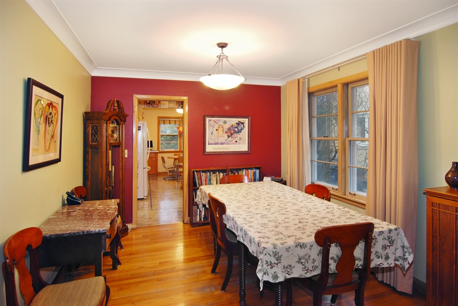 Real Estate Photography - 730 Augusta Street, Oak Park, IL, 60302 - Dining Room