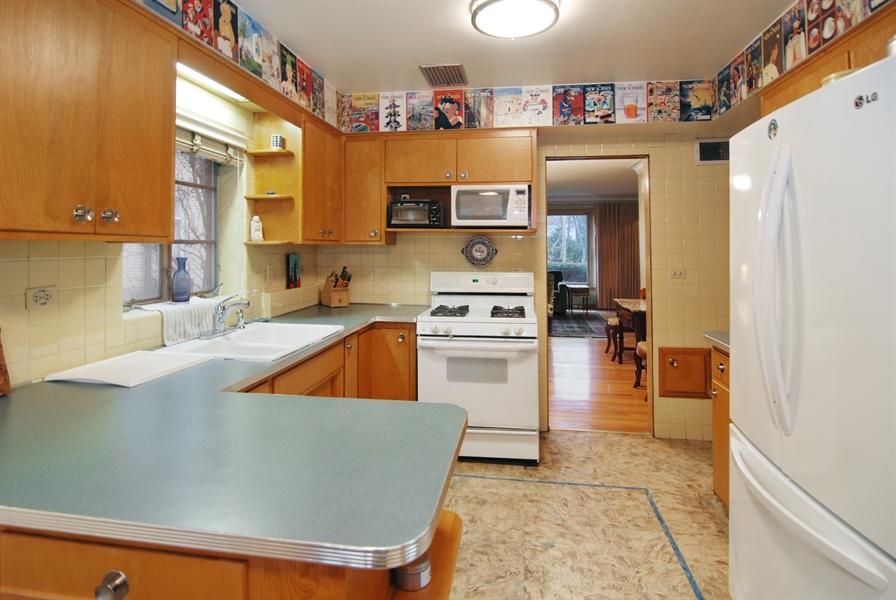 Real Estate Photography - 730 Augusta Street, Oak Park, IL, 60302 - Kitchen