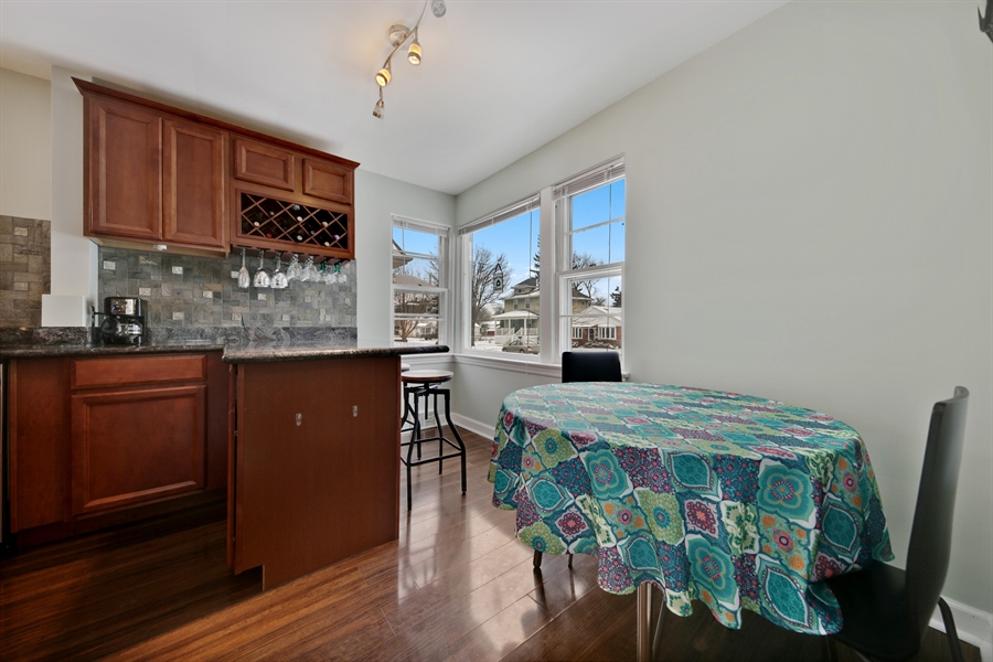 Real Estate Photography - 9138 Grant Ave, Brookfield, IL, 60513 - Breakfast Area