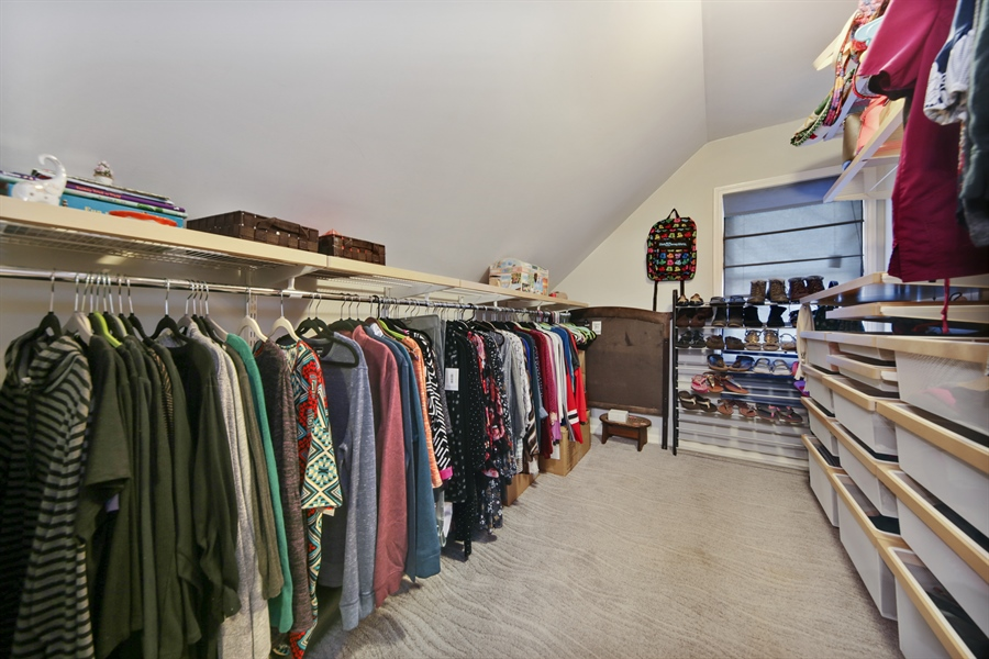 Real Estate Photography - 9138 Grant Ave, Brookfield, IL, 60513 - Closet