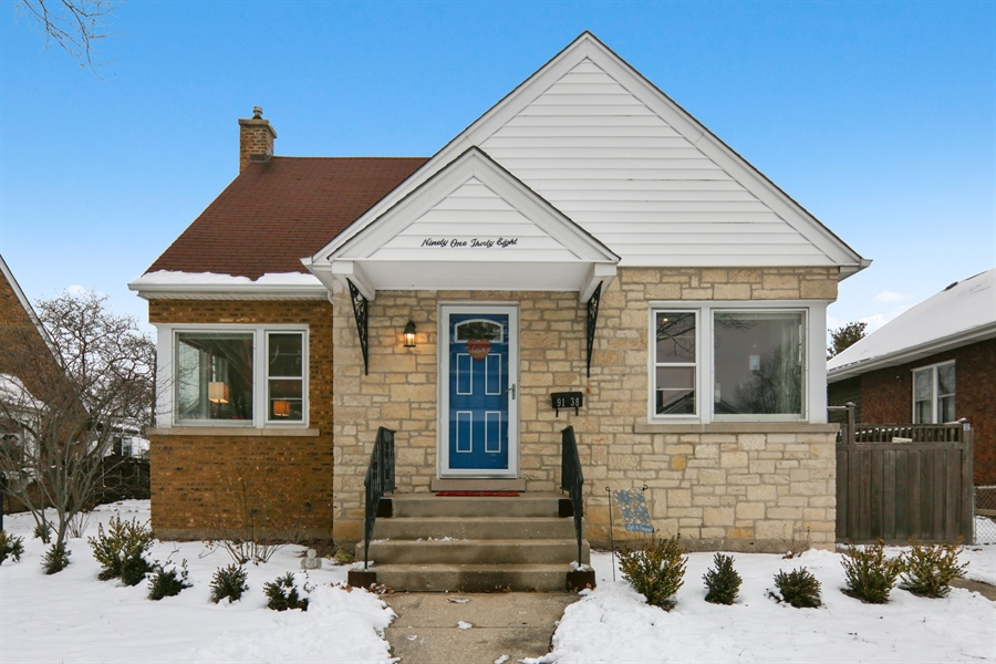 Real Estate Photography - 9138 Grant Ave, Brookfield, IL, 60513 - Front View