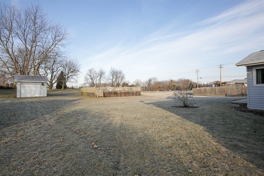 Real Estate Photography - 14N764 Oliver Drive, Elgin, IL, 60124 - Back Yard