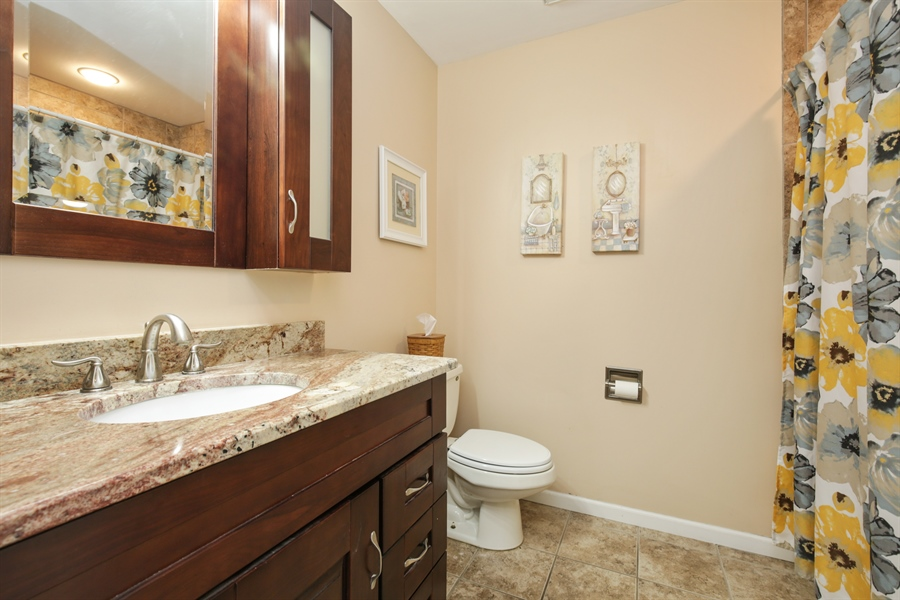 Real Estate Photography - 14N764 Oliver Drive, Elgin, IL, 60124 - Bathroom