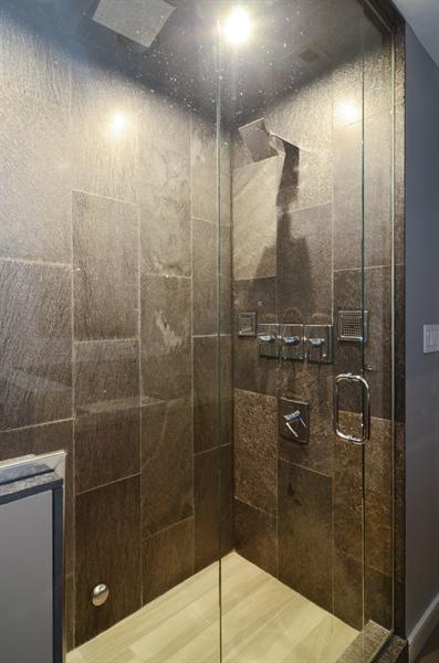 Real Estate Photography - 411 W. ONTARIO Street, Unit 721, Chicago, IL, 60654 - Master Bathroom