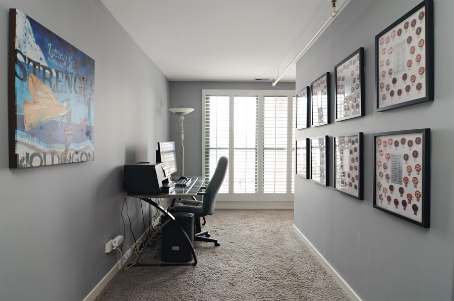 Real Estate Photography - 411 W. ONTARIO Street, Unit 721, Chicago, IL, 60654 - Master Bedroom