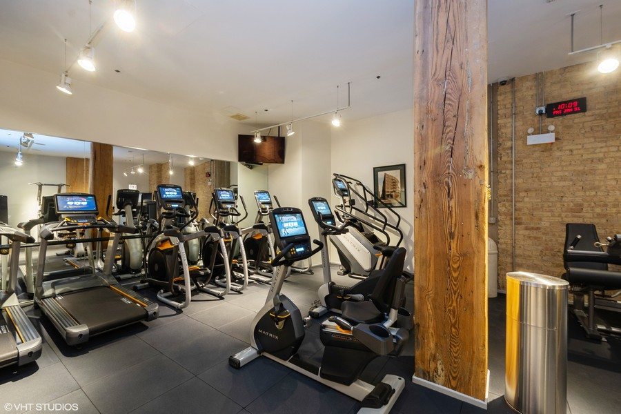 Real Estate Photography - 411 W. ONTARIO Street, Unit 721, Chicago, IL, 60654 - Exercise Room