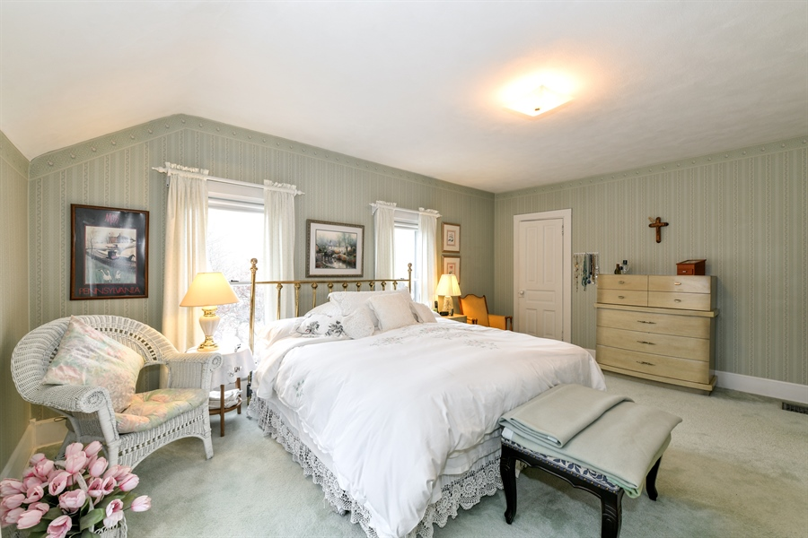 Real Estate Photography - 214 W. Benton Avenue, Naperville, IL, 60540 - Master Bedroom