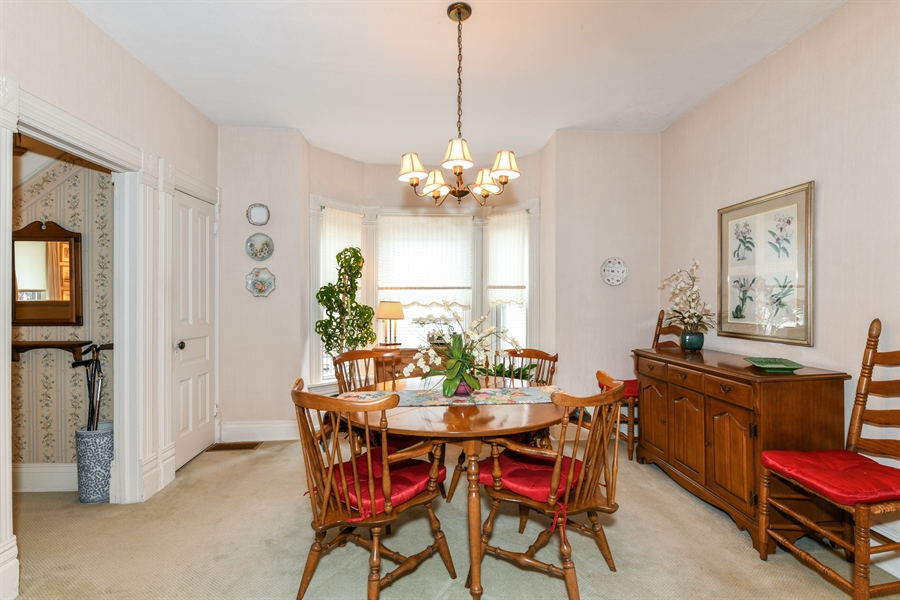 Real Estate Photography - 214 W. Benton Avenue, Naperville, IL, 60540 - Dining Room