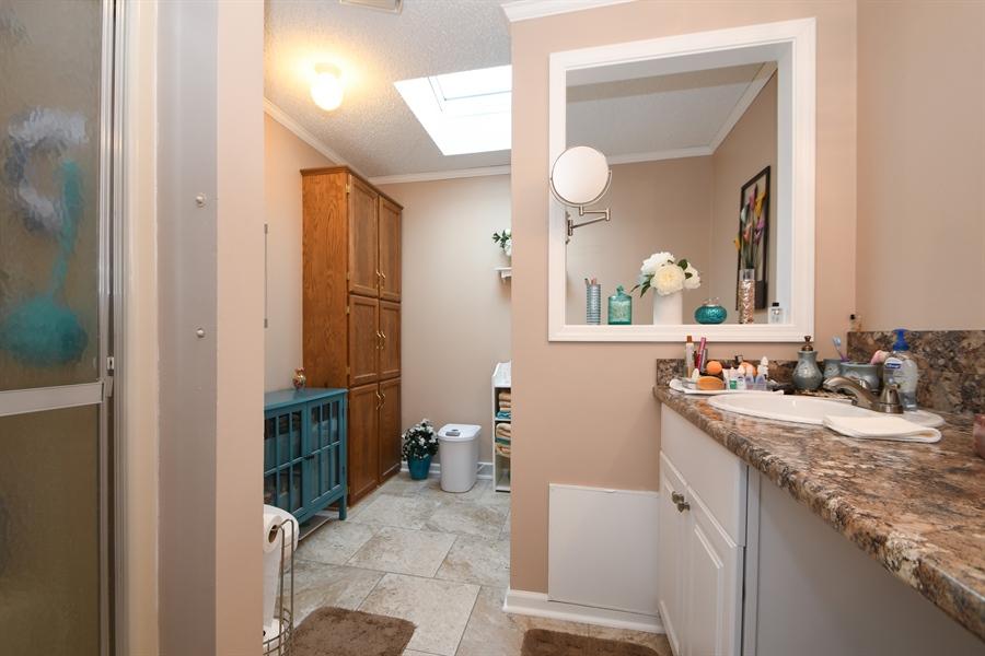 Real Estate Photography - 25756 Scioto St, Monee, IL, 60449 - Master Bathroom