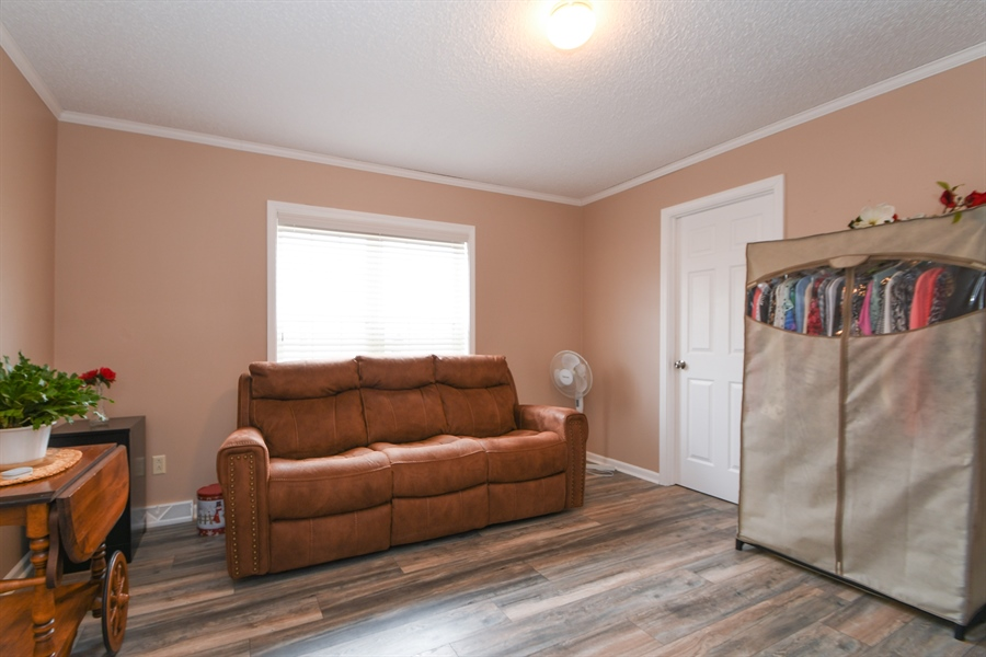 Real Estate Photography - 25756 Scioto St, Monee, IL, 60449 - 2nd Bedroom