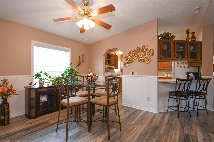 Real Estate Photography - 25756 Scioto St, Monee, IL, 60449 - Dining Room