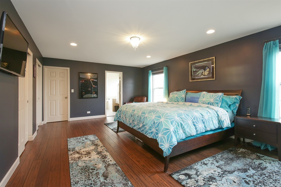 Real Estate Photography - 3048 Seekonk Ave, Elgin, IL, 60124 - Master Bedroom