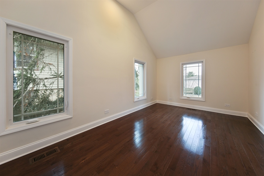 Real Estate Photography - 4112 Forest Ave, Downers Grove, IL, 60615 - 3rd Bedroom
