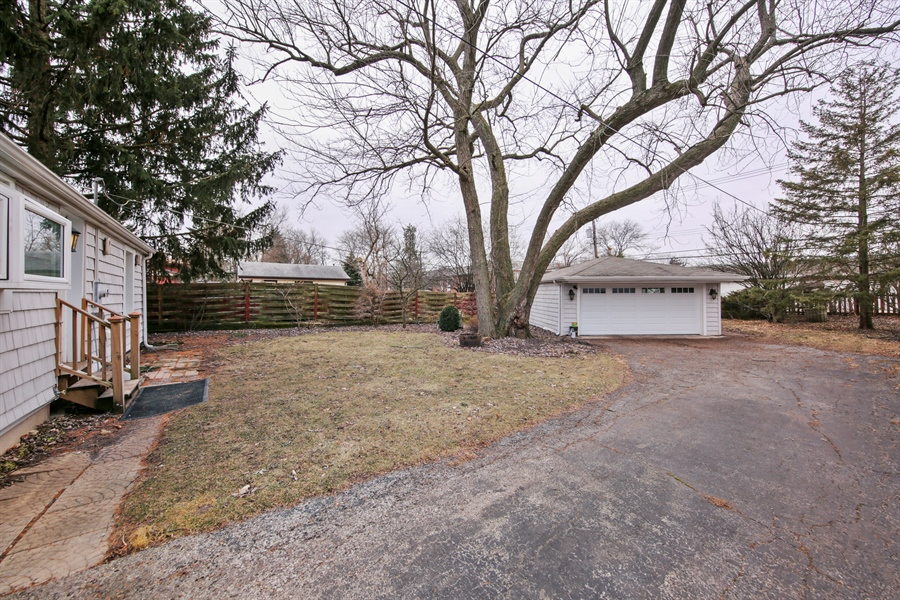 Real Estate Photography - 4112 Forest Ave, Downers Grove, IL, 60615 - Back Yard