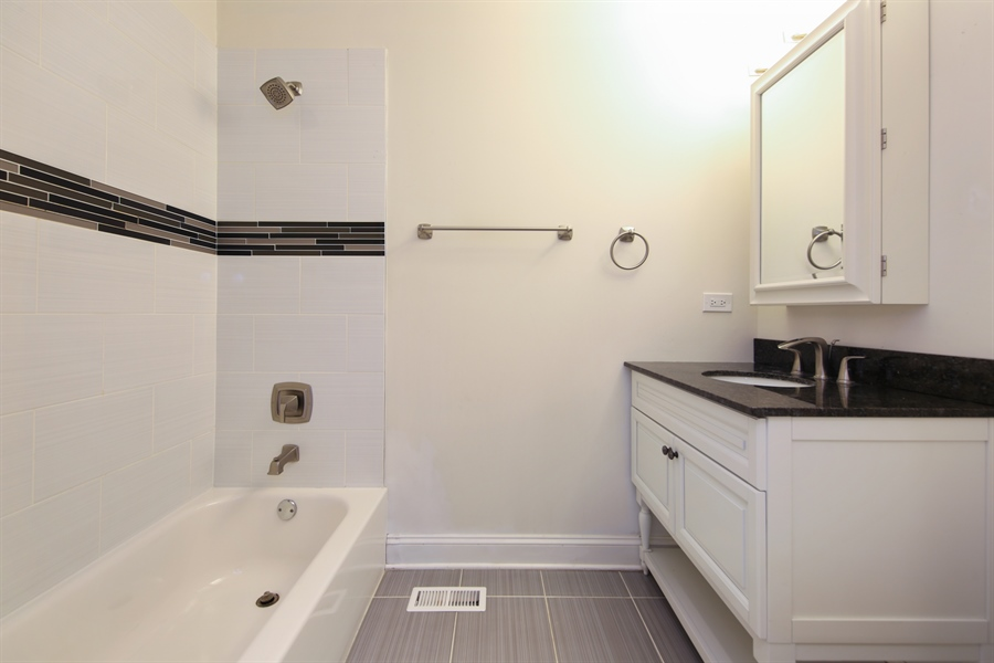 Real Estate Photography - 4112 Forest Ave, Downers Grove, IL, 60615 - Bathroom