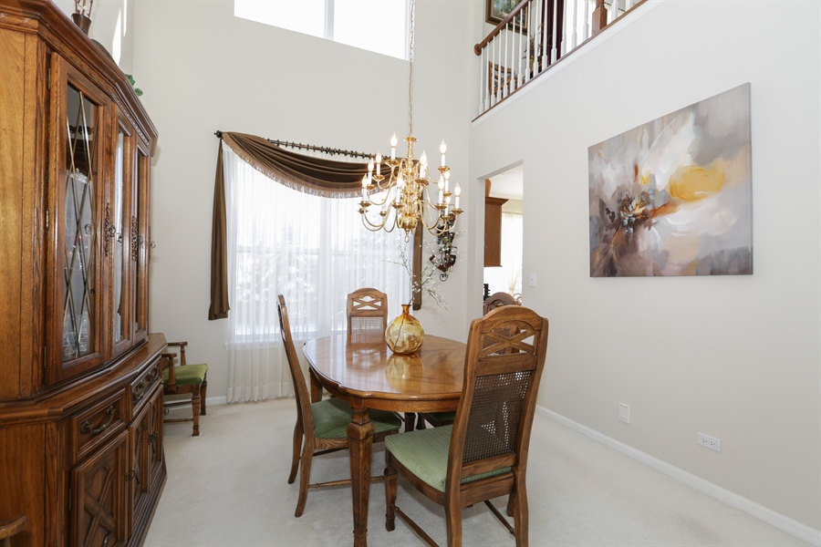 Real Estate Photography - 1981 Broadsmore Drive, Algonquin, IL, 60102 - Dining Room