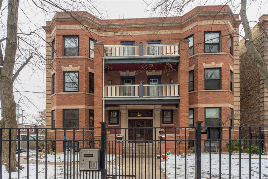 Real Estate Photography - 4618 N. Racine Avenue, Unit 1F, Chicago, IL, 60640 - Front View