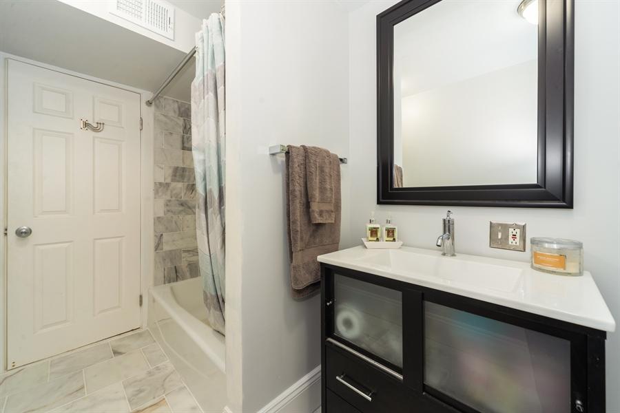 Real Estate Photography - 4618 N. Racine Avenue, Unit 1F, Chicago, IL, 60640 - Bathroom