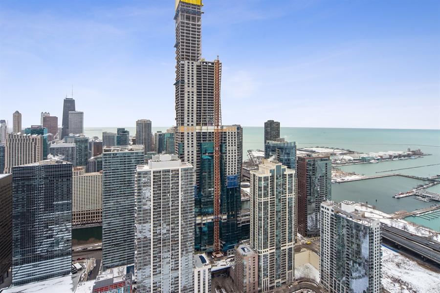 Real Estate Photography - 340 E. RANDOLPH Street, Unit 5401, Chicago, IL, 60601 - View