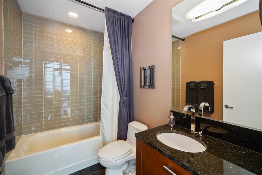 Real Estate Photography - 340 E. RANDOLPH Street, Unit 5401, Chicago, IL, 60601 - 3rd Bathroom