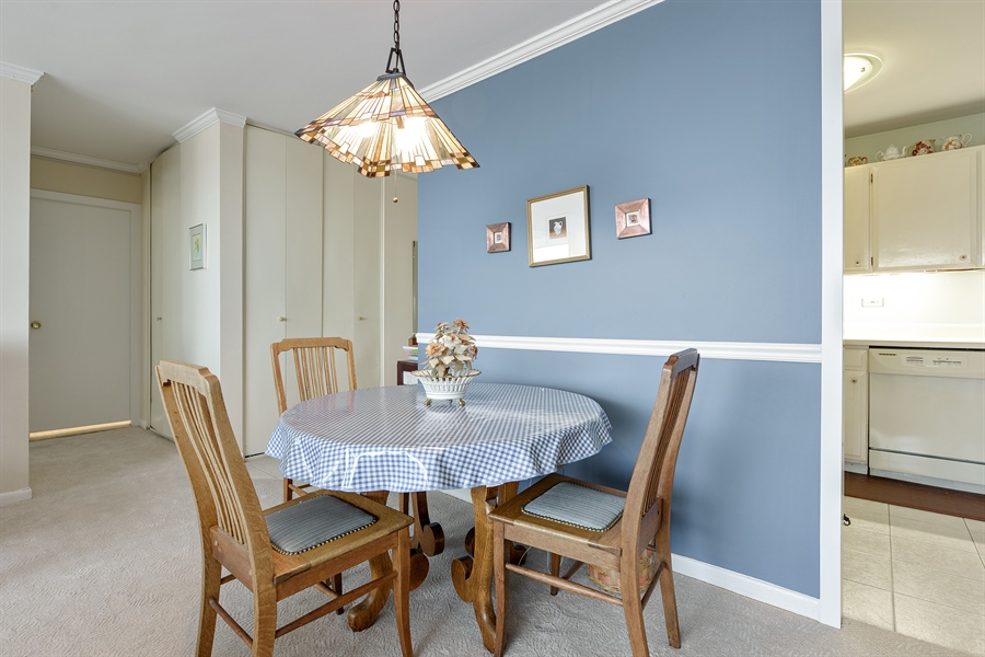 Real Estate Photography - 5455 N. Sheridan Road, Unit 2703, Chicago, IL, 60640 - Dining Area