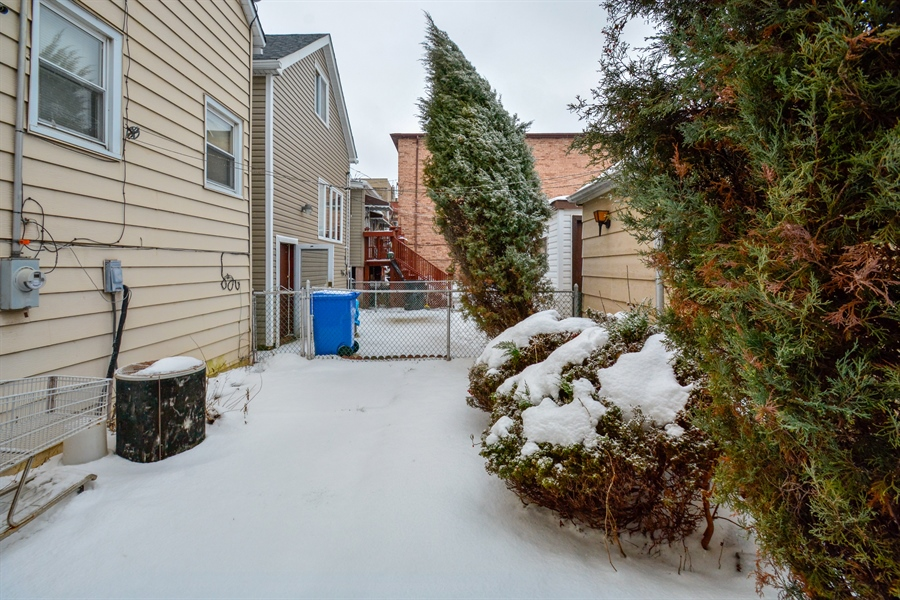 Real Estate Photography - 548 W. 32nd Street, Chicago, IL, 60616 - Back Yard