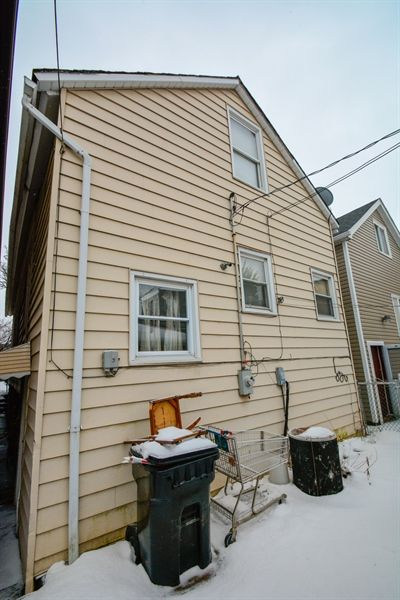 Real Estate Photography - 548 W. 32nd Street, Chicago, IL, 60616 - Rear View