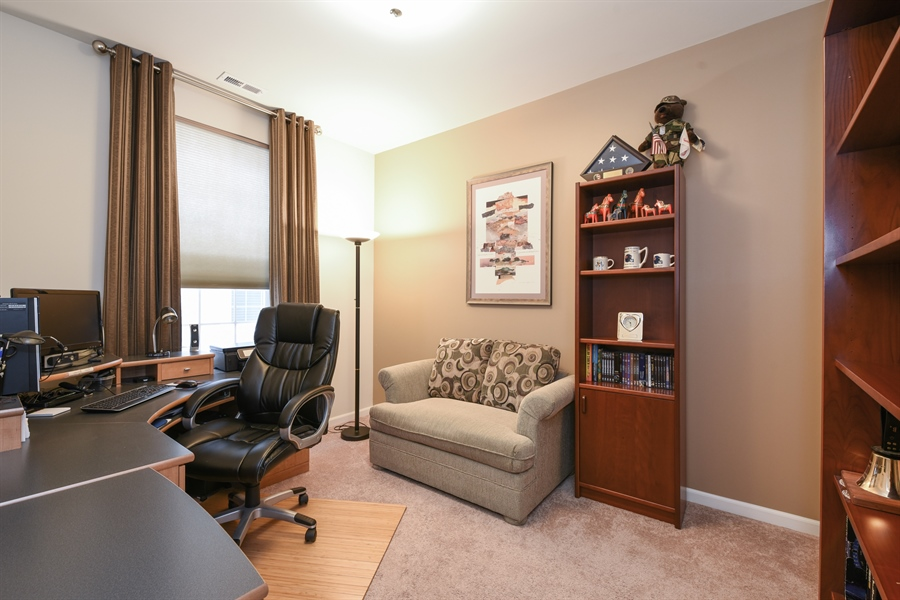 Real Estate Photography - 811 Rocky Gap Drive, Elgin, IL, 60124 - BEDROOM TWO OR  OFFICE