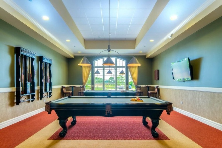 Real Estate Photography - 811 Rocky Gap Drive, Elgin, IL, 60124 - BILLIARD ROOM