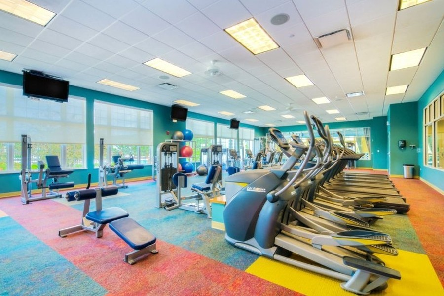 Real Estate Photography - 811 Rocky Gap Drive, Elgin, IL, 60124 - FITNESS CENTER