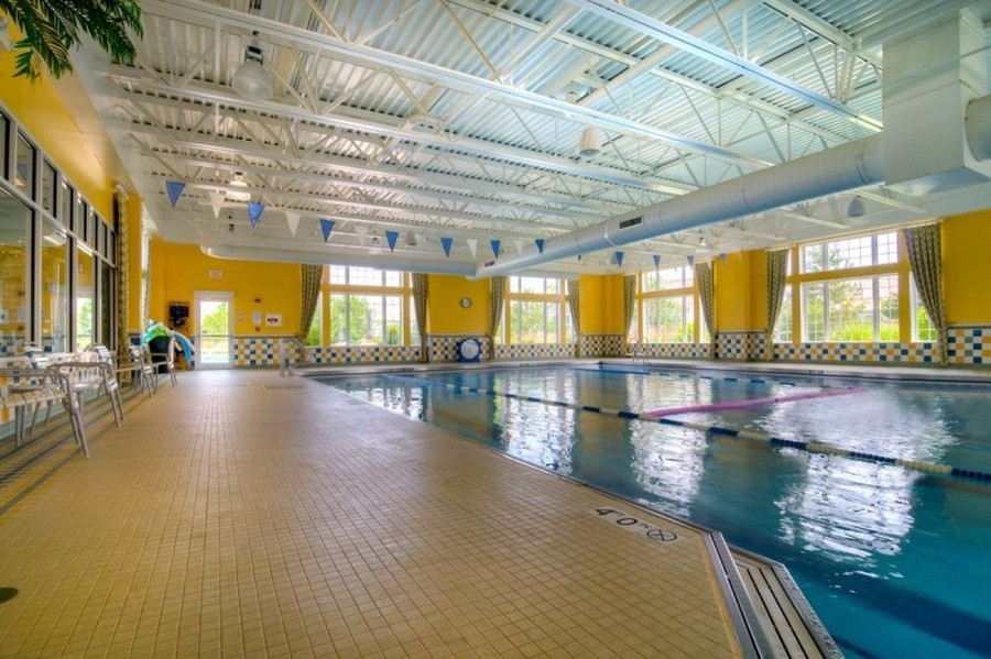 Real Estate Photography - 811 Rocky Gap Drive, Elgin, IL, 60124 - INDOOR POOL AND HOT TUB