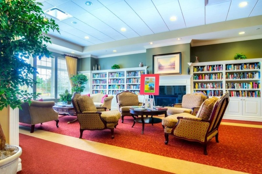 Real Estate Photography - 811 Rocky Gap Drive, Elgin, IL, 60124 - LIBRARY AND COMPUTER ROOM + PUZZLE AREA