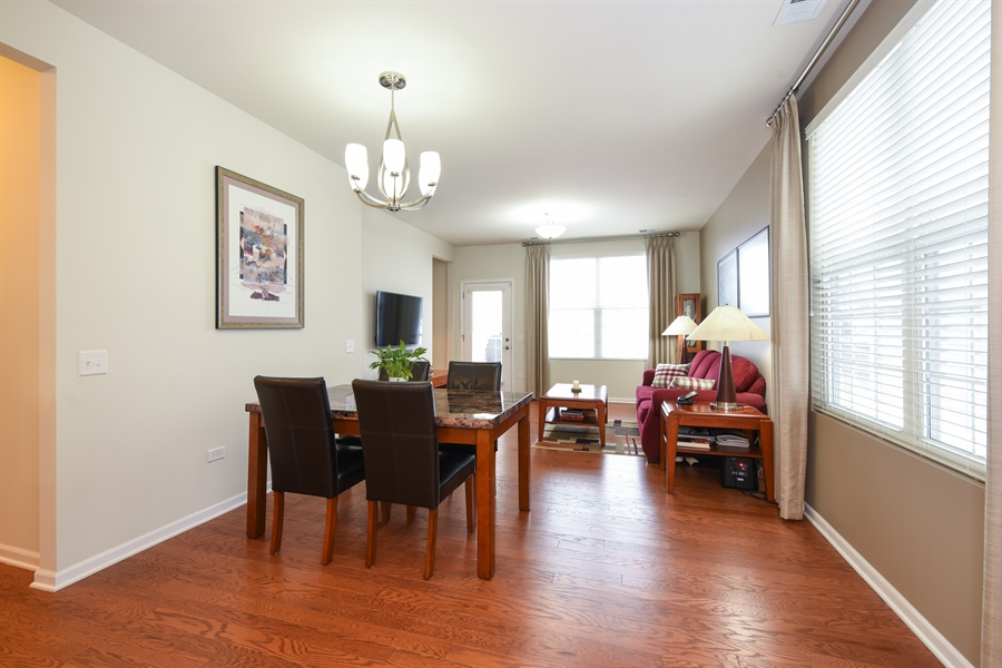 Real Estate Photography - 811 Rocky Gap Drive, Elgin, IL, 60124 - DINING ROOM & LIVING ROOM AREA