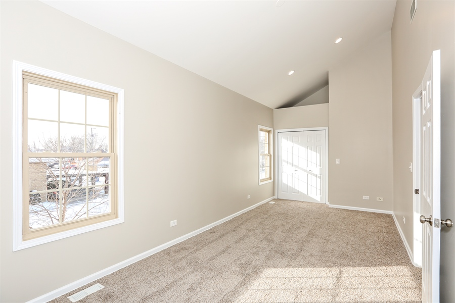 Real Estate Photography - 1803 Haddon Street, Melrose Park, IL, 60160 - 2nd Bedroom