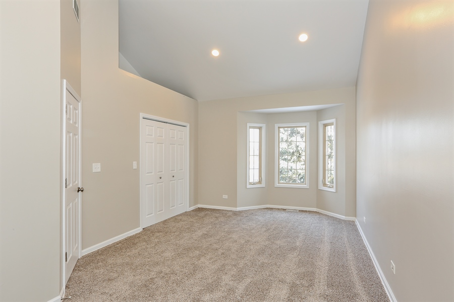 Real Estate Photography - 1803 Haddon Street, Melrose Park, IL, 60160 - Bedroom