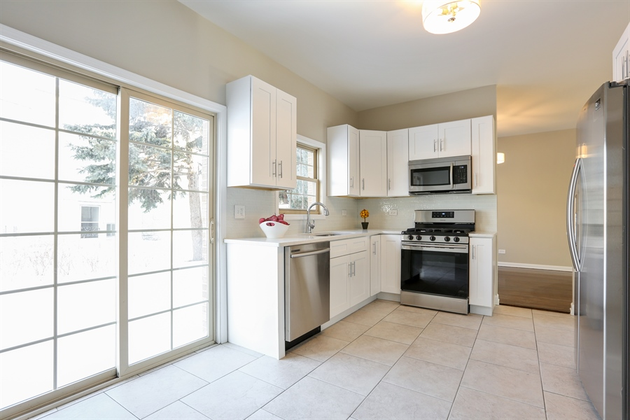 Real Estate Photography - 1803 Haddon Street, Melrose Park, IL, 60160 - Kitchen / Breakfast Room