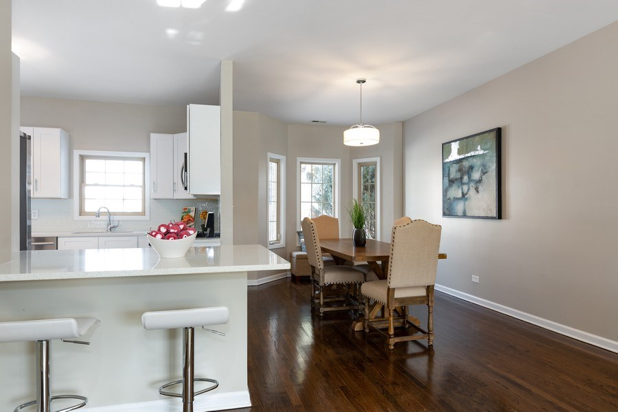 Real Estate Photography - 1803 Haddon Street, Melrose Park, IL, 60160 - Dining Room