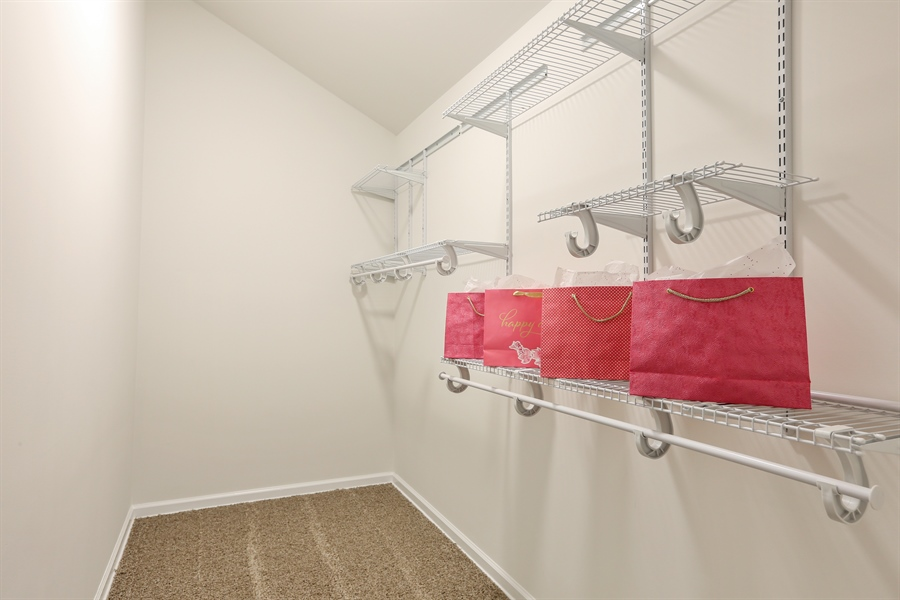 Real Estate Photography - 1803 Haddon Street, Melrose Park, IL, 60160 - Master Bedroom Closet