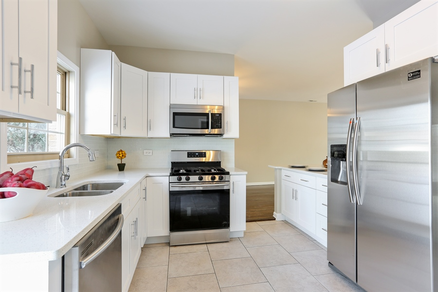 Real Estate Photography - 1803 Haddon Street, Melrose Park, IL, 60160 - Kitchen