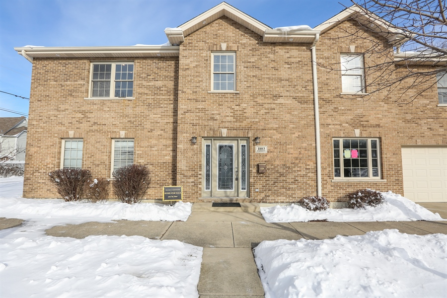 Real Estate Photography - 1803 Haddon Street, Melrose Park, IL, 60160 - Front View