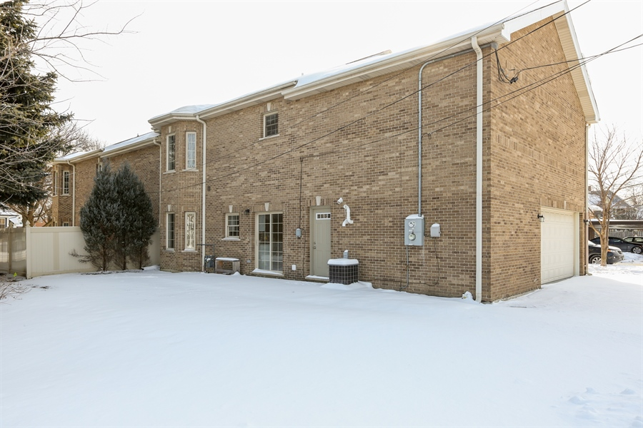 Real Estate Photography - 1803 Haddon Street, Melrose Park, IL, 60160 - Rear View