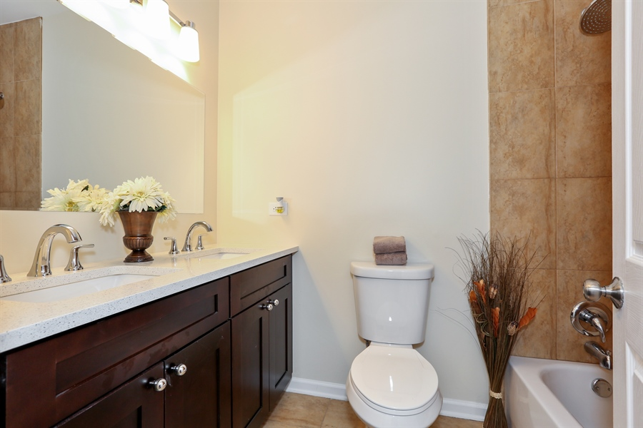 Real Estate Photography - 1803 Haddon Street, Melrose Park, IL, 60160 - Bathroom