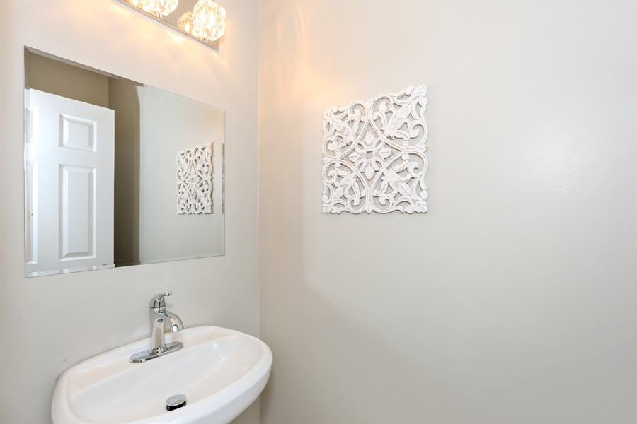 Real Estate Photography - 1803 Haddon Street, Melrose Park, IL, 60160 - 2nd Bathroom