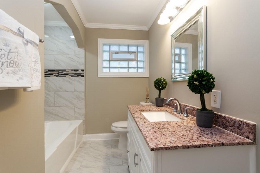 Real Estate Photography - 244 S. Michigan Avenue, Addison, IL, 60101 - Bathroom