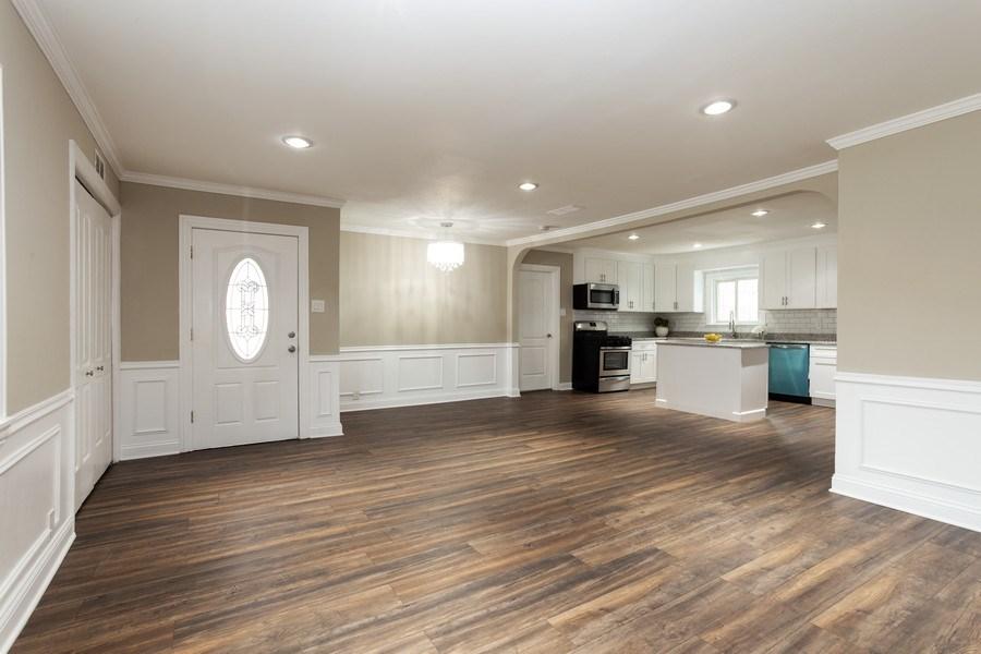 Real Estate Photography - 244 S. Michigan Avenue, Addison, IL, 60101 - Kitchen / Living Room